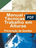 Manual Tec. de Trabalho Em Altura - SINDUSCON CE