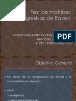 Diapositivas. Test de Matrices Progresivas de Raven