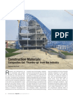 Article on 'Composite Materials in Construction Industry' by Chaitanya Raj Goyal
