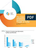 Obstacles to Retirement for People of Color
