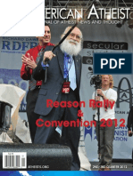 American Atheist Magazine Second/Third Quarter 2012