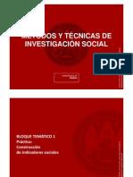Práctica 1. Construcción de indicadores sociales