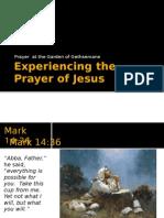 Experiencing the Prayer of Jesus