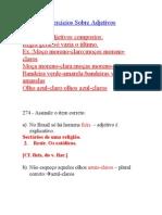 ADJETIVO-Exercícios Sobre Adjetivos