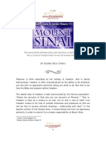 Mount Sinai, the encounter between God and the Jews
