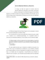 Ensayo sobre los Materiales Didácticos y Educativos.doc