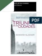 El triunfo de las ciudades..pdf