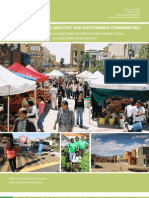 Creating Equitable, Healthy, and Sustainable Communities by US EPA, February 2013