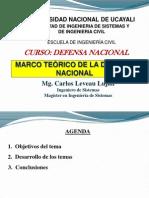 Semana 5 - Marco Teórico de la Defensa Nacional