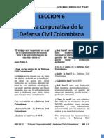 Mr 6 Cultura Corporativa de La Defensa Civil Colombiana