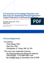 A Framework of Knowledge Integration and Discovery for Supporting PharmacogenomicsTarget Predication of Adverse Drug Events