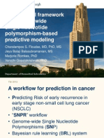 An Empirical Framework for Genome-wide Single Nucleotide Polymorphism-based Predictive Modeling