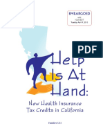 New Health Insurance Tax Credits
