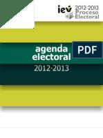 Agenda Electoral 2012-2013 Veracruz Iev