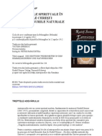 Rudolf Steiner-Entitatile Spirituale in Corpurile Ceresti