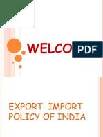 Eximpolicyofindia