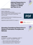 Educating Translational Researchers in Research Informatics Principles and Methods-An Evaluation of a Model Online Course and Plans for Its Dissemination