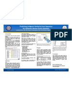Predicting Antigenic Simillarity From Sequence for Influenza Vaccine Strain Selection (Poster)