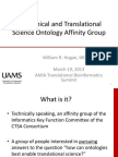 The Clinical Translational Science Ontology Affinity Group