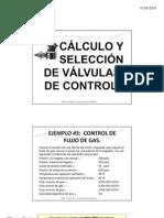 Calculo y Seleccion, Ejemplo #3