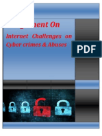 Internet Challenges on Cyber-crimes & Abuses