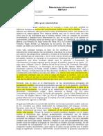 03 1 El conocimiento científico POR Carlos Sabino