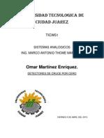 Detectores de Cruce Por Cero