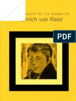 [Bernd Fischer] a Companion to the Works of Heinrich von Kleist