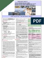 Notification of Indian Navy Pilot Observer Posts