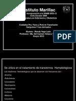 pre,trans,post de  tranfusiones carmen.ppt