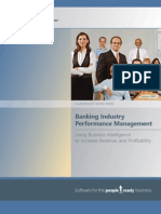 Microsoft Banking Industry Performance Management
