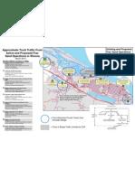 Winona Frac Sand Traffic Map