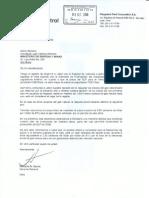 Carta compromiso Plus Petrol Peru Corporation SA