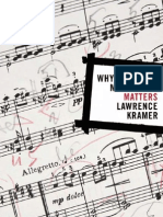 Kramer, Lawrence - Why Classical Music Still Matters