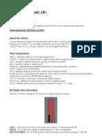 Levels in Digital Audio