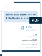 UNC eView Build Talent Faster Better