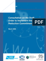 Consultation on Draft Order to Implement the Carbon Reduction Commitment