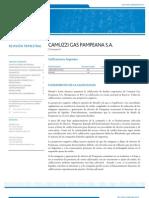 Camuzzi Sept 12 - Informe (Emisor-Acciones)