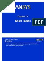 Intro1 M14 Short-Topics
