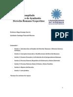 Compilado Ayudantía Derecho Romano