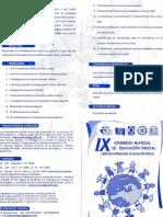 IX CONGRESO MUNDIAL DE EDUCACION INICIAL 2009