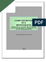Apostila - Como Escrever Sua Monografia - 2012