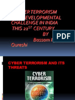 A PPT On Cyber Terrorism and Its Threats