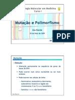 Mutacao e Polimorfismo 1