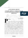 Argentina - Analisis Critico y Comparativo de Las Encuestas de Victimizacion
