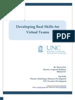 Developing Real Skills for Virtual Teams