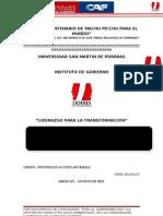 Proyecto Liderazgo Conflictos Fin