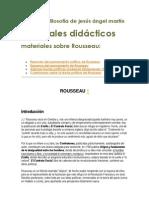 Resumen Del Pensamiento Politico de Rousseau