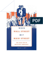 "Excerpt from ""When Wall Street Met Main Street"" by Julia C. Ott"
