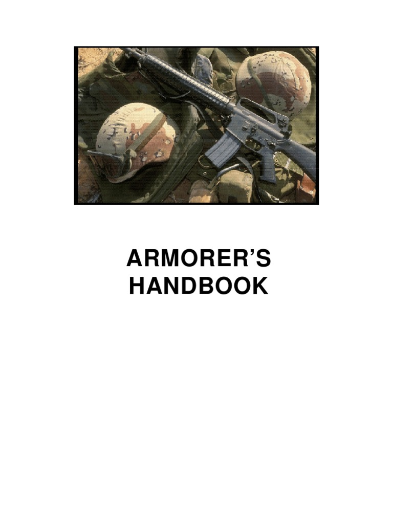 Armorers Handbook  7c7a20a38157